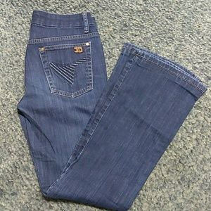Joe's Jeans 28 Muse Boot Cut Perry Dark Wash